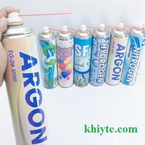 bình khí Argon mini 4