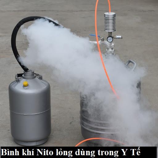 bình khí nito lỏng y tế